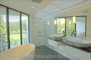 Master En-suite with Separate Bath and Shower