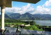 Hanalei Bay from Princeville Hotel