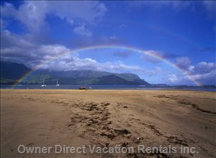 Bay and a Rainbow