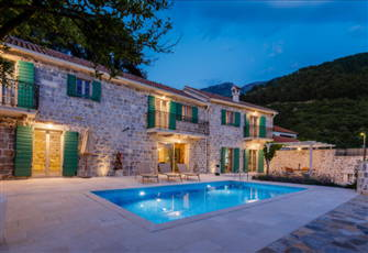 Beautiful Old Stone Villa with Sea and Mountain Views in Peaceful Area,Kotor Bay
