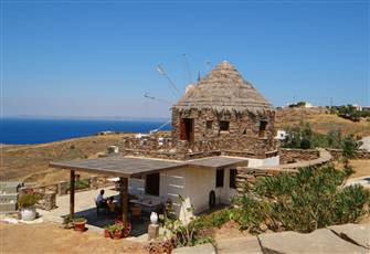 Unique Traditional Windmill with Incredible Sea View!