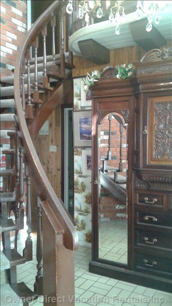 Front Foyer, Victorian Armoire