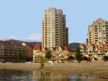 Sunset Waterfront Resort on Lake Okanagan