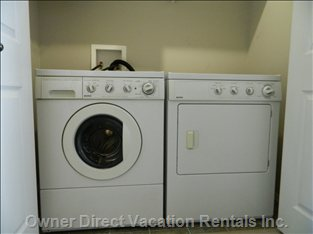 Washer & Dryer Facilities.