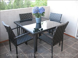 Unwind on your Own Private Covered Deck & Patio Set