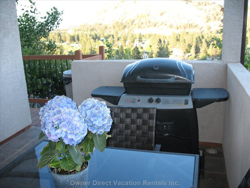 Enjoy the Convenience of Having your Own Bbq. Even the Bbq Utensils & Propane are Supplied