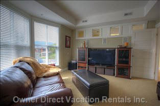 Family Room/Third Bedroom - Sleeps 2 in a Hide-a-Bed and a Single Bed