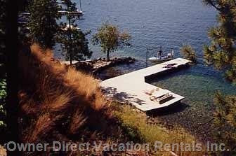 Large Deck and Dock
