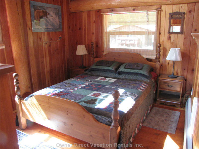 Master Bedroom in the Loft Area