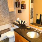 Main Bathroom with Granite Counters