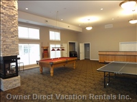 Clubhouse and Games Room - Enjoy a Game of Pool Or Ping Pong While Staying at Discovery Bay Resort