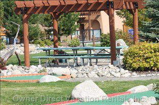 Common Bbq Area - Play Mini Glof before Or after