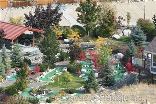 View of Mini Golf Course