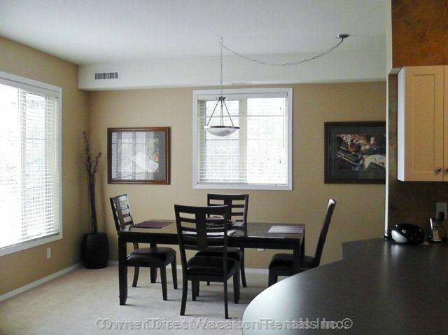 Dining Area with Granite Top Table