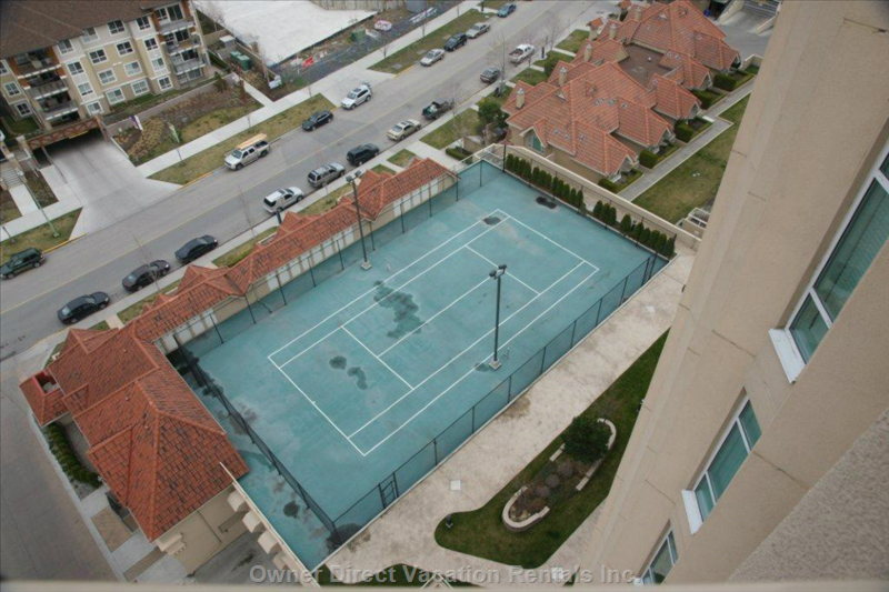 Tennis Court Viewed from the 14th Floor Balcony #2