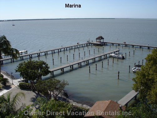 Moon Bay Marina. Class one Slip  Water and Electricity Rated to 30 Feet Loa.