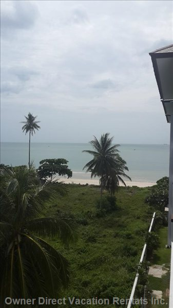 Sea View. On a Sunny Day you Can See out to Kho Samui.