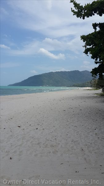 10 Kilometer Long White Sandy Nadan Beach.