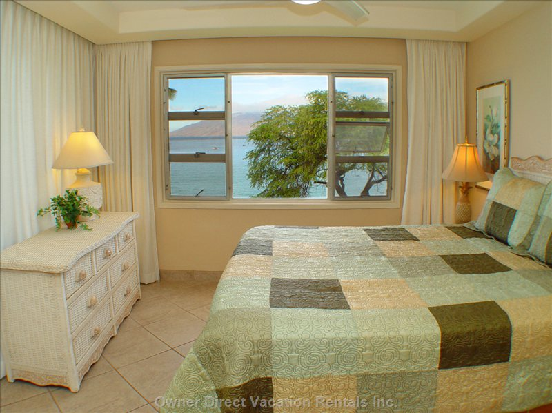 Our Oceanfront Master Bedroom