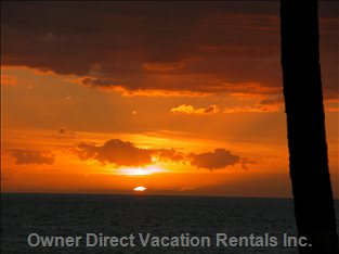Sunset View from your Lanai