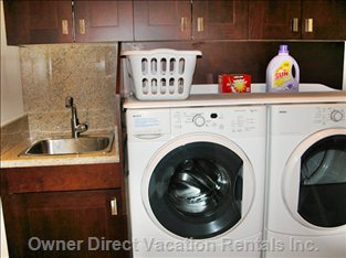 Washer, Drying and Laundry Room Sink