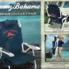 Two Tommy Bahama Beach Chairs.
