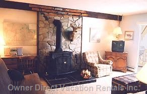 #19384 1bedroom Mountain View  Fire Place Pillow-top Bed