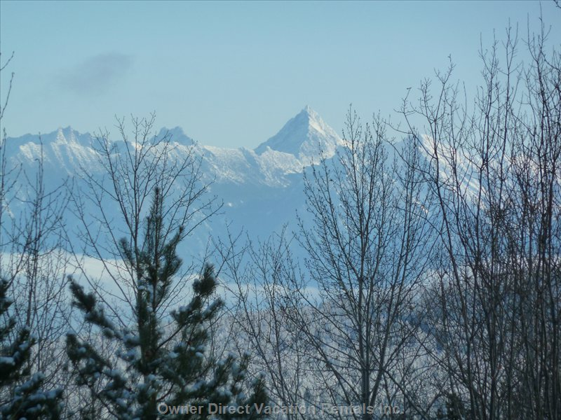 Fisher Peak from Deck