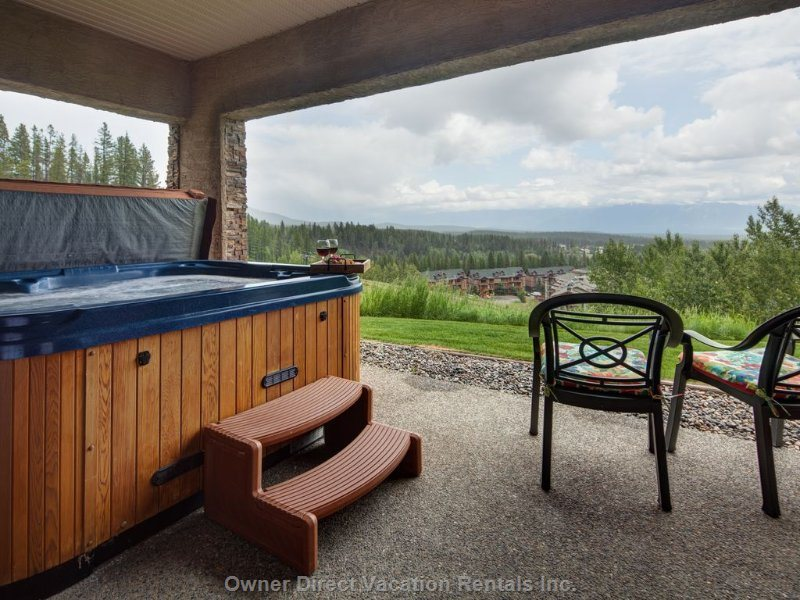 Walkout to Hottub and Ski Hill