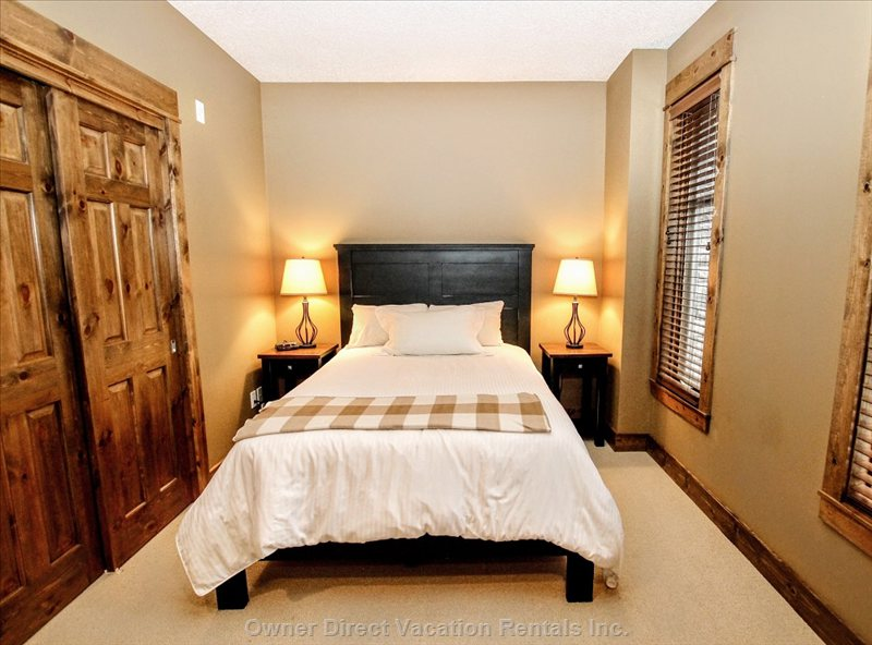 2nd Bedrooms are Furnished with Double Beds