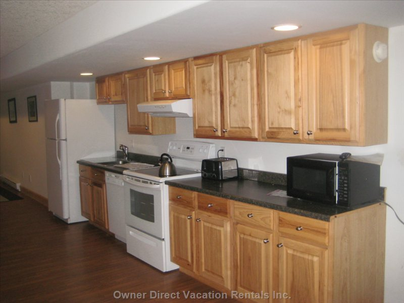 Full Birch Hardwood  Deigner Kitchen