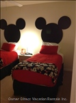 2nd Floor Bedroom with Mickey Mouse Theme