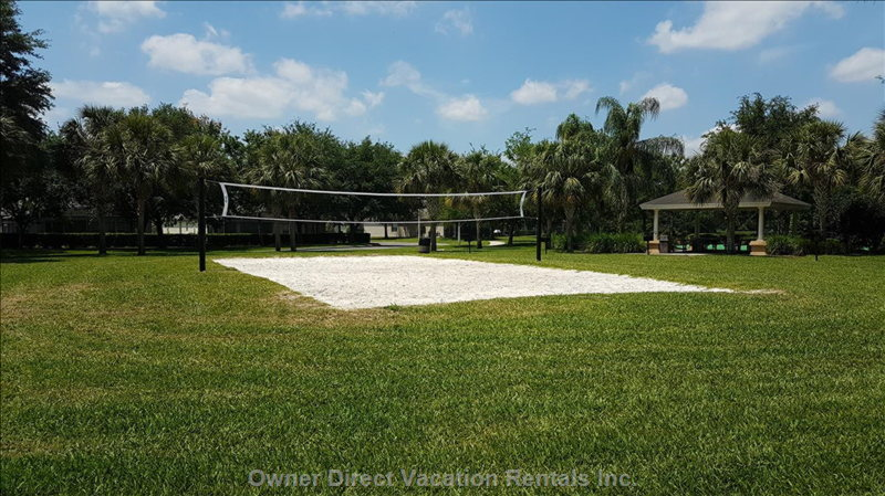 Volleyball Sand Court