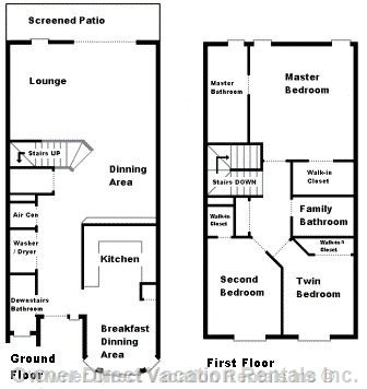 Town Home Layout