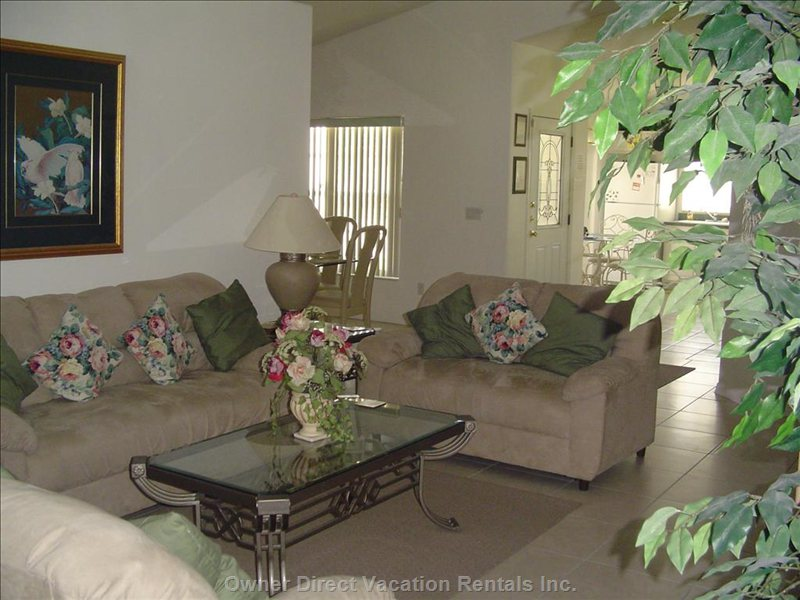Lounge Or Family Room
