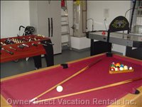 Games Room and Garage