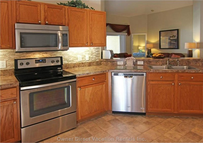 New Upgraded Stainles Steel Kitchen Appliances