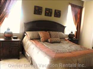 "King Size Bed  with Ensuite and 14"" Lcd Television"