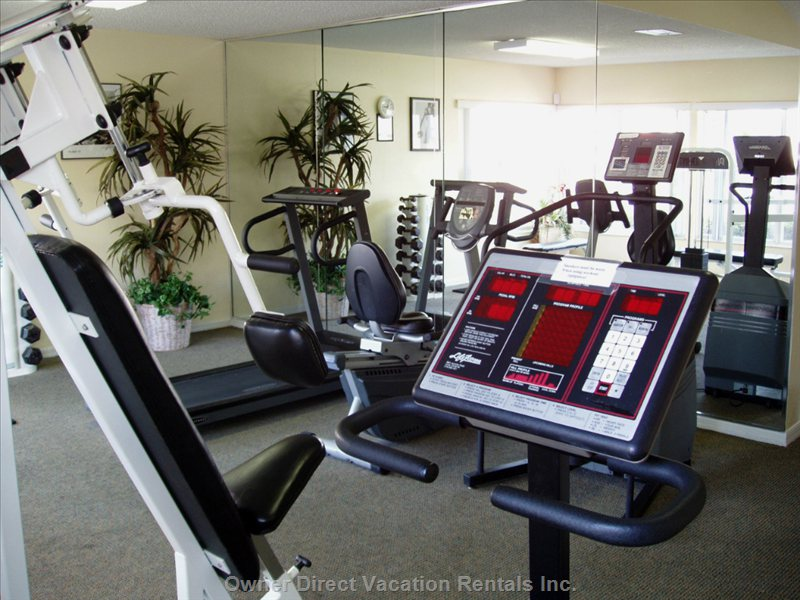If you Haven'T Had Enough Walking around the Parks, the Fully Equipped Fitness Center Will Get you into Shape Quickly.