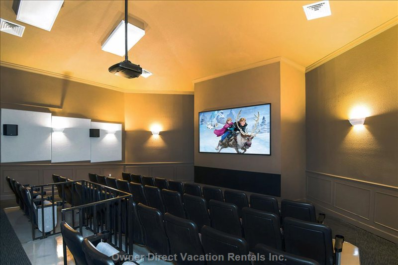 Movie Theatre at Club House