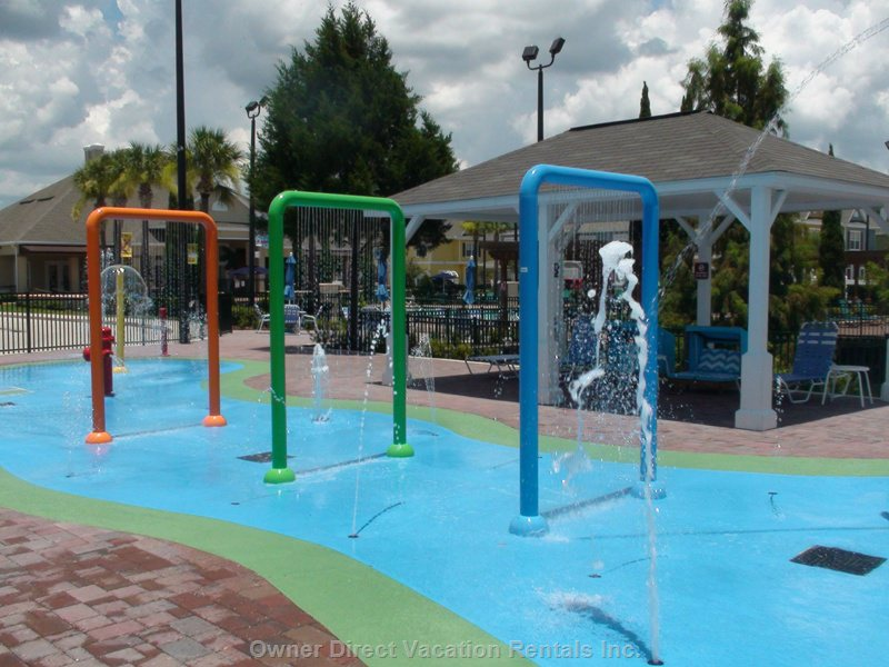 New Children Splash Zone