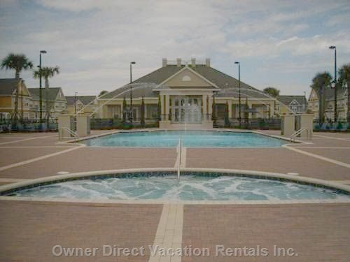 Club House with Heated Pool and Jacuzzi
