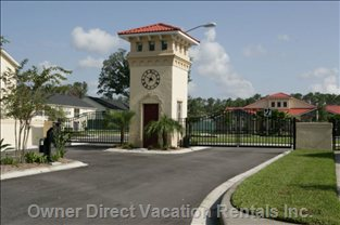 Gated Complex Entrance