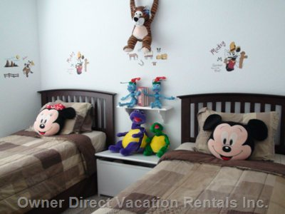Kid'S Room (Fourth Bedroom)