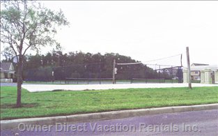 Venetian Bay Villages Tennis and Volleyball Courts