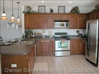 Kitchen Diner with New (2004) Stainless Steel Appliances