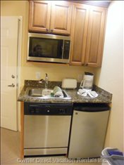 Kitchenette - Unit May Not be Exactly as Shown