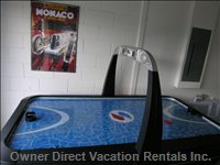 Games Room Air Hockey