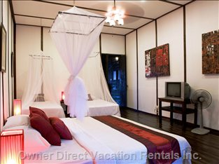 The Main Air Conditioned Bedroom