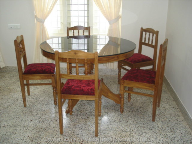 Shared Dining Table and Chairs